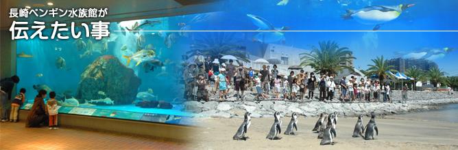 ペンギン水族館が伝えたいこと